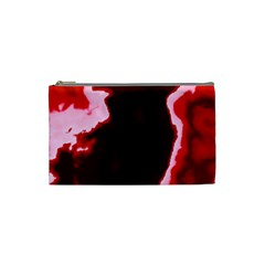 Crimson Sky Cosmetic Bag (small)  by TRENDYcouture