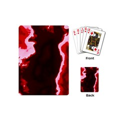 Crimson Sky Playing Cards (mini)  by TRENDYcouture