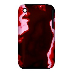 Crimson Sky Apple Iphone 3g/3gs Hardshell Case (pc+silicone) by TRENDYcouture