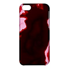 crimson sky Apple iPhone 5C Hardshell Case