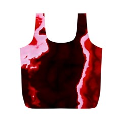 crimson sky Full Print Recycle Bags (M)