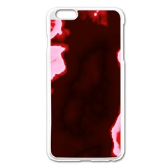 crimson sky Apple iPhone 6 Plus/6S Plus Enamel White Case