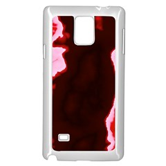 Crimson Sky Samsung Galaxy Note 4 Case (white) by TRENDYcouture
