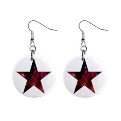 Star Mini Button Earrings by itsybitsypeakspider