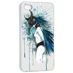Caged Bird Apple Iphone 4/4s Seamless Case (white) by lvbart