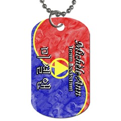49 Micheleann Dog Tag (two Sided)