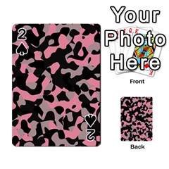 Kitty Camo Playing Cards 54 Designs