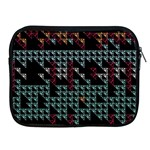 Triangles                                                                               			Apple iPad 2/3/4 Zipper Case Front