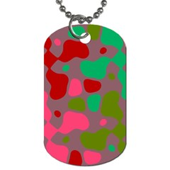 Spots                                                                                			dog Tag (one Side) by LalyLauraFLM