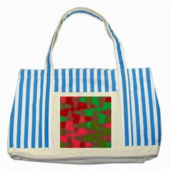 Spots                                                                                			striped Blue Tote Bag by LalyLauraFLM