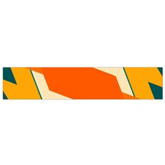 Shapes In Retro Colors                                                                                  Flano Scarf by LalyLauraFLM