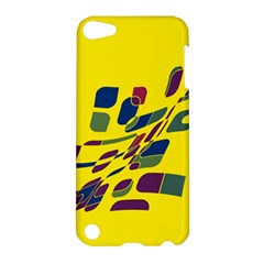 Yellow Abstraction Apple Ipod Touch 5 Hardshell Case