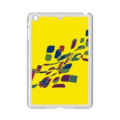Yellow Abstraction Ipad Mini 2 Enamel Coated Cases by Valentinaart