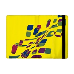 Yellow Abstraction Ipad Mini 2 Flip Cases by Valentinaart