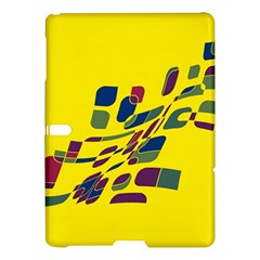 Yellow Abstraction Samsung Galaxy Tab S (10 5 ) Hardshell Case  by Valentinaart