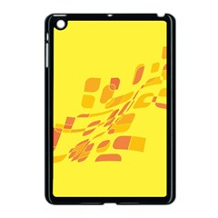 Yellow Abstraction Apple Ipad Mini Case (black) by Valentinaart