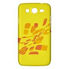 Yellow Abstraction Samsung Galaxy Mega 5 8 I9152 Hardshell Case  by Valentinaart