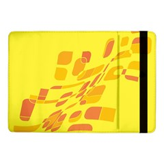 Yellow Abstraction Samsung Galaxy Tab Pro 10 1  Flip Case by Valentinaart