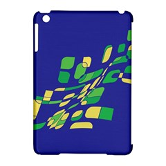 Blue Abstraction Apple Ipad Mini Hardshell Case (compatible With Smart Cover) by Valentinaart