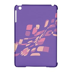 Purple Abstraction Apple Ipad Mini Hardshell Case (compatible With Smart Cover) by Valentinaart
