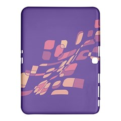 Purple Abstraction Samsung Galaxy Tab 4 (10 1 ) Hardshell Case  by Valentinaart
