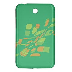 Green Abastraction Samsung Galaxy Tab 3 (7 ) P3200 Hardshell Case