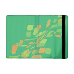 Green Abastraction Ipad Mini 2 Flip Cases by Valentinaart
