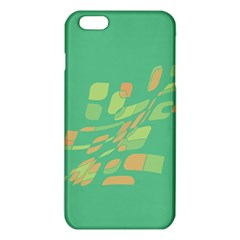 Green Abastraction Iphone 6 Plus/6s Plus Tpu Case by Valentinaart
