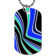 Colors Of 70 s Dog Tag (two Sides) by Valentinaart