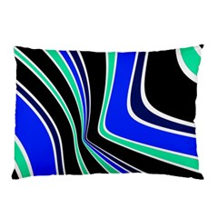 Colors Of 70 s Pillow Case (two Sides) by Valentinaart