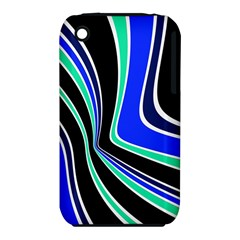 Colors Of 70 s Apple Iphone 3g/3gs Hardshell Case (pc+silicone) by Valentinaart