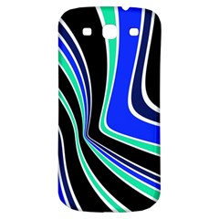 Colors Of 70 s Samsung Galaxy S3 S Iii Classic Hardshell Back Case by Valentinaart
