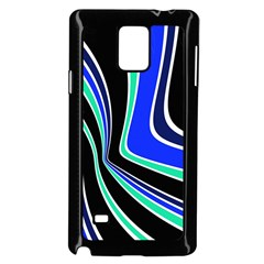 Colors Of 70 s Samsung Galaxy Note 4 Case (black) by Valentinaart