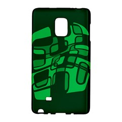 Green Abstraction Galaxy Note Edge by Valentinaart