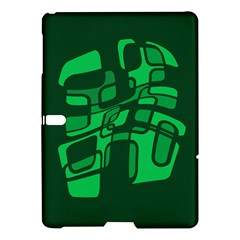 Green Abstraction Samsung Galaxy Tab S (10 5 ) Hardshell Case  by Valentinaart