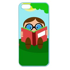 Brainiac Apple Seamless Iphone 5 Case (color) by Valentinaart