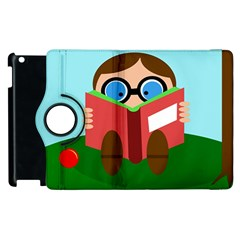 Brainiac Apple Ipad 2 Flip 360 Case by Valentinaart