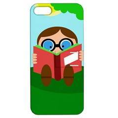 Brainiac Apple Iphone 5 Hardshell Case With Stand by Valentinaart