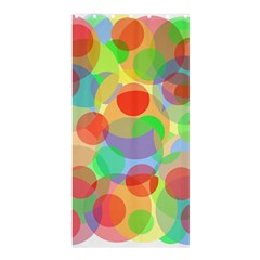 Colorful Circles Shower Curtain 36  X 72  (stall)  by Valentinaart