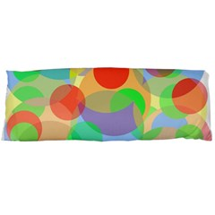 Colorful Circles Body Pillow Case Dakimakura (two Sides)