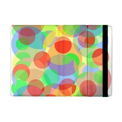 Colorful Circles Apple Ipad Mini Flip Case by Valentinaart