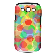 Colorful Circles Samsung Galaxy S Iii Classic Hardshell Case (pc+silicone) by Valentinaart