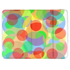 Colorful Circles Samsung Galaxy Tab 7  P1000 Flip Case by Valentinaart