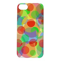 Colorful Circles Apple Iphone 5s/ Se Hardshell Case by Valentinaart