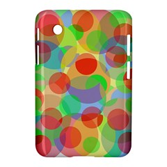 Colorful Circles Samsung Galaxy Tab 2 (7 ) P3100 Hardshell Case  by Valentinaart