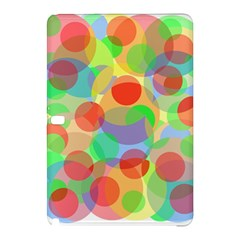 Colorful Circles Samsung Galaxy Tab Pro 10 1 Hardshell Case by Valentinaart