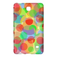 Colorful Circles Samsung Galaxy Tab 4 (7 ) Hardshell Case  by Valentinaart