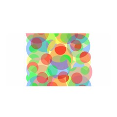 Colorful Circles Satin Wrap by Valentinaart