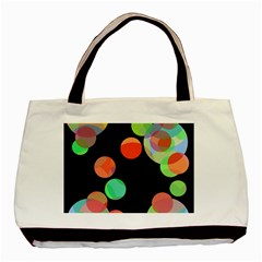 Colorful Circles Basic Tote Bag by Valentinaart