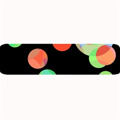 Colorful Circles Large Bar Mats by Valentinaart